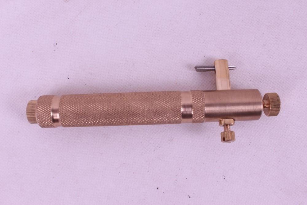 Виолончель инструмент, Luthier инструменты, латунь Purfle разделочный нож# q42