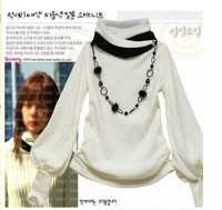 цена от производителя, новинка рукав фонарик женская рубашка с длинными рукавами футболка топ 4 цветов