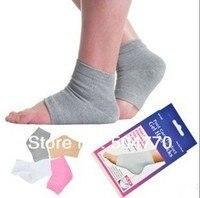 новый продукт гель нет-пятки носки увлажняет поезд сухой кабель мягкие носки для ног уход за кожей красоты