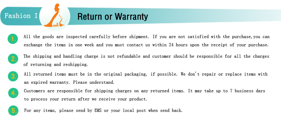 Return or Warranty