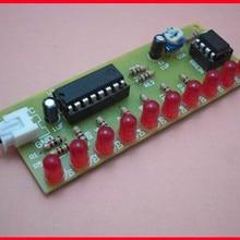 Free Shipping!!! NE555 + CD4017 water lamp / DIY electronic parts