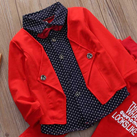 2pcs Toddler Baby Boys Kids Shirt Tops Long Pants Clothes Outfits Gentleman Set