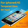 Para apple iphone4 4s 5 5s se 5c prima templado protector de pantalla de cine a prueba de explosiones 5S sobre el vidrio de protección