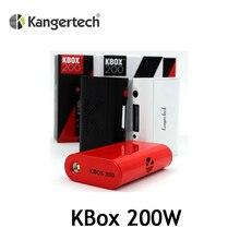 เดิมบุหรี่อิเล็กทรอนิกส์สมัยKanger KBOX 200วัตต์สมัยควบคุมอุณหภูมิขับเคลื่อนโดย18650แบตเตอรี่VS Kangerสมัย(MM)