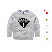 2016 Spring and Autumn girls baby boys sweater children sweater children's sports and leisure pullover