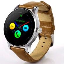 Neue Tragbare Geräte Smartwatch Runden Bildschirm Smart Uhr Bluetooth Schrittzähler Uhr Kompatibel Android IOS reloj inteligente