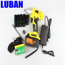 68V 8000mA Integrated machine rechangeable electric wrench socket wrench tool electric power drill screwdriver