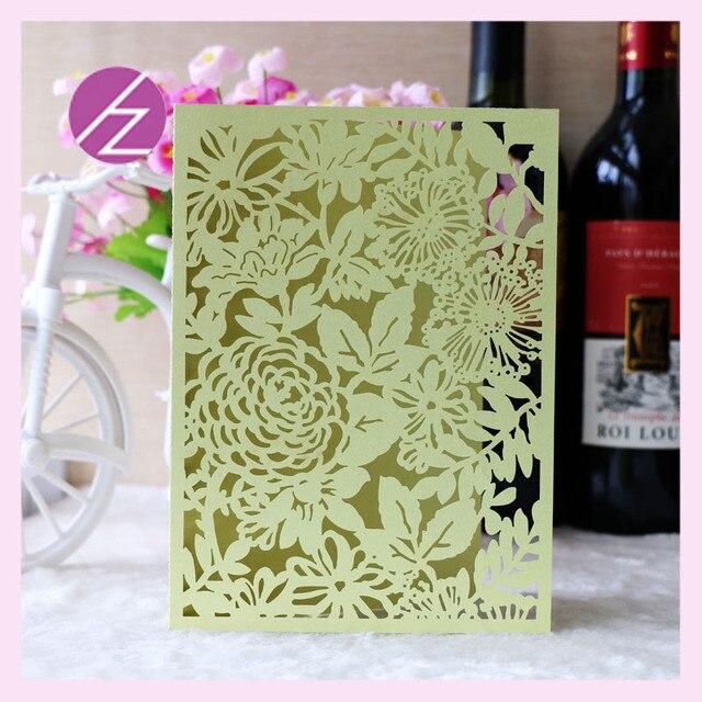 Aliexpress Buy 12pcslot birthday invitation cards flower – Invitation Cards Handmade