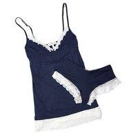 виктория оригинал один лето сексуальное кружево модальные хлопка женщин пижама, пижамы