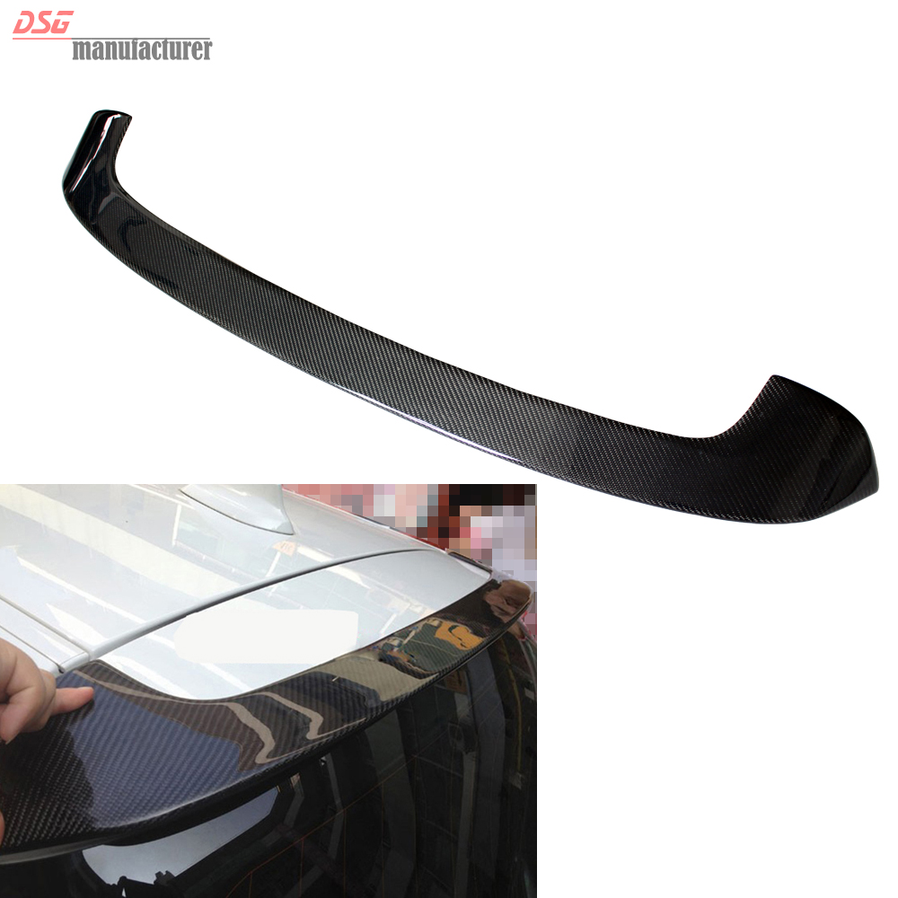 F20  Carbon Fiber Roof Spoiler F21 M Performance Style Car Wing for BMW 1 Series F20 F21 125i 118i 116i M135i Gloss Black partol black car roof rack cross bars roof luggage carrier cargo boxes bike rack 45kg 100lbs for honda pilot 2013 2014 2015