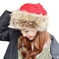 1 UNID Nueva Moda Casual Invierno Mujeres Gorros Señora Girls Sombreros de Punto Caliente Hembra Tapa Tapas