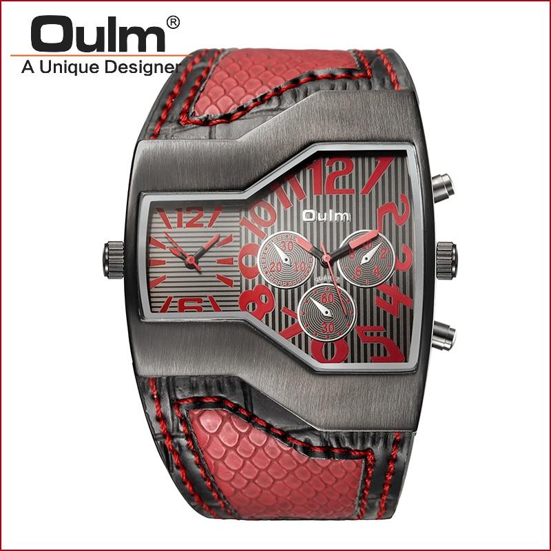 oprindelse design watch dobbelt tidszone sport stil kvarts - Mænds ure - Foto 4