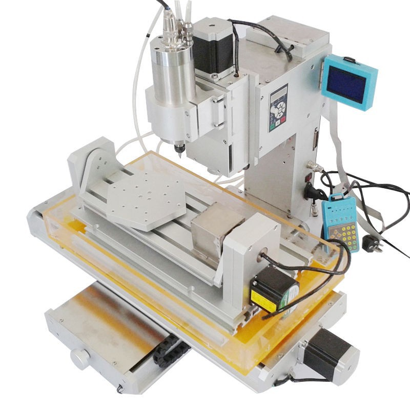 Table Column Type mini CNC 3040 5 Axis CNC router engraver carving machine 2.2KW spindle ship to Russia free tax cnc 1610 with er11 diy cnc engraving machine mini pcb milling machine wood carving machine cnc router cnc1610 best toys gifts