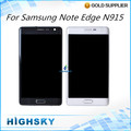 For display Samsung Galaxy Note edge N915 lcd screen + touch digitizer with frame 5 pcs/lot DHL EMS free shipping
