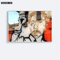 멋진 거리 낙서 스타일의 벽 예술 포스터 캔버스 인쇄 거실 장식