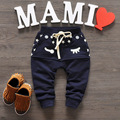 2016 New Spring Baby Pants Cotton Star Pattern Kids Pants Baby Boy Girls Pants 5colors