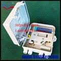 12 Ядра FTTH-Fiber Optic Box, Материал ABS Коробка, FTTH Распределительная Коробка, PLC Splitter Выбор, Волоконно-Оптический Адаптер переходник