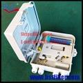 12 Núcleos De Fibra Óptica Ftth, Material del ABS, Caja de FTTH Caja de Distribución, Selección PLC Splitter, Adaptador de Fibra Óptica acoplador