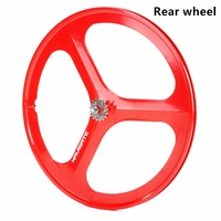 1PCS magnesium alloy single speed fixed gear bike wheels 700C road racing venues inch wheel bicycle accessories