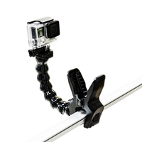Gopro Accessories Jaws Flex Clamp Mount Adjustable Neck For GoPro Camera Hero1 2 3 3 SJCAM