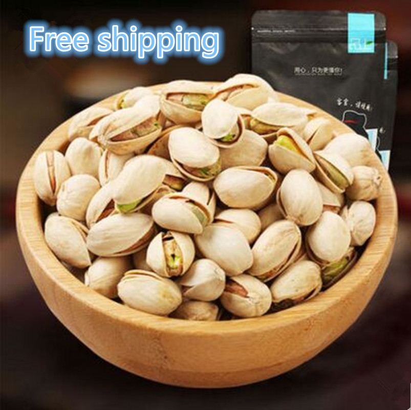 Free shipping Plain packages bleaching pistachios Nuts dry nuts leisure snacks pistachios от Aliexpress INT