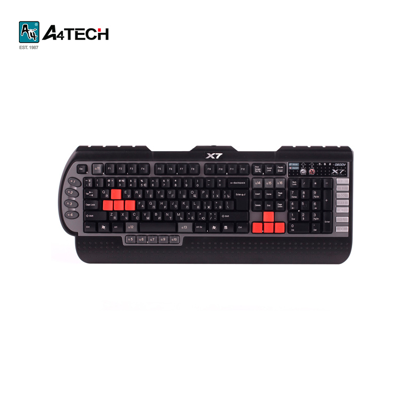 Gaming keyboard A4Tech G800V Officeacc радиотелефон panasonic kx tgf310rum