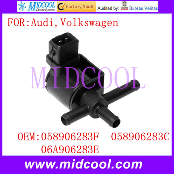 Novo Turbo Válvula Solenóide uso OE NO. 058906283F, 058906283C, 06A906283E para Audi Volkswagen