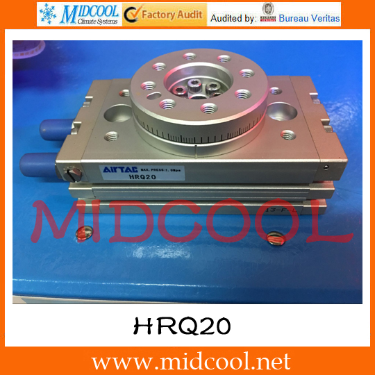 Original AirTAC Rotary table cylinder HRQ Series HRQ20 tdoubeauty dental greeloy silent oil free air compressor ga 62 free shipping