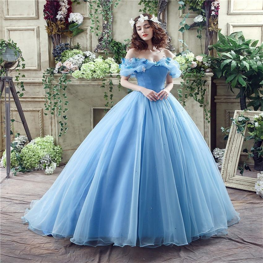 Popular Ice Blue Wedding Dresses-Buy Cheap Ice Blue