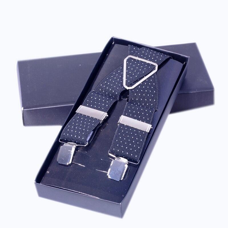 SALUTTO Fashion Women Mens Unisex Clip-on Braces Elastic Slim Suspender Y-Back Suspenders Male Pants vintage casual mans strap