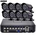 GADINAN 8-КАНАЛЬНЫЙ AHD ВИДЕОНАБЛЮДЕНИЯ Система 1080 P HDMI 8-КАНАЛЬНЫЙ AHD DVR 8 ШТ. 720 P 960 P ИК Открытый Безопасности, Камеры Наблюдения Системы ABS корпус