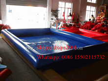 2016 customized swimming pools inflatable pool float china factory with free blower