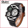 watch wrist fashion quartz japan movt, factory price wristwatch, multifunction men watch