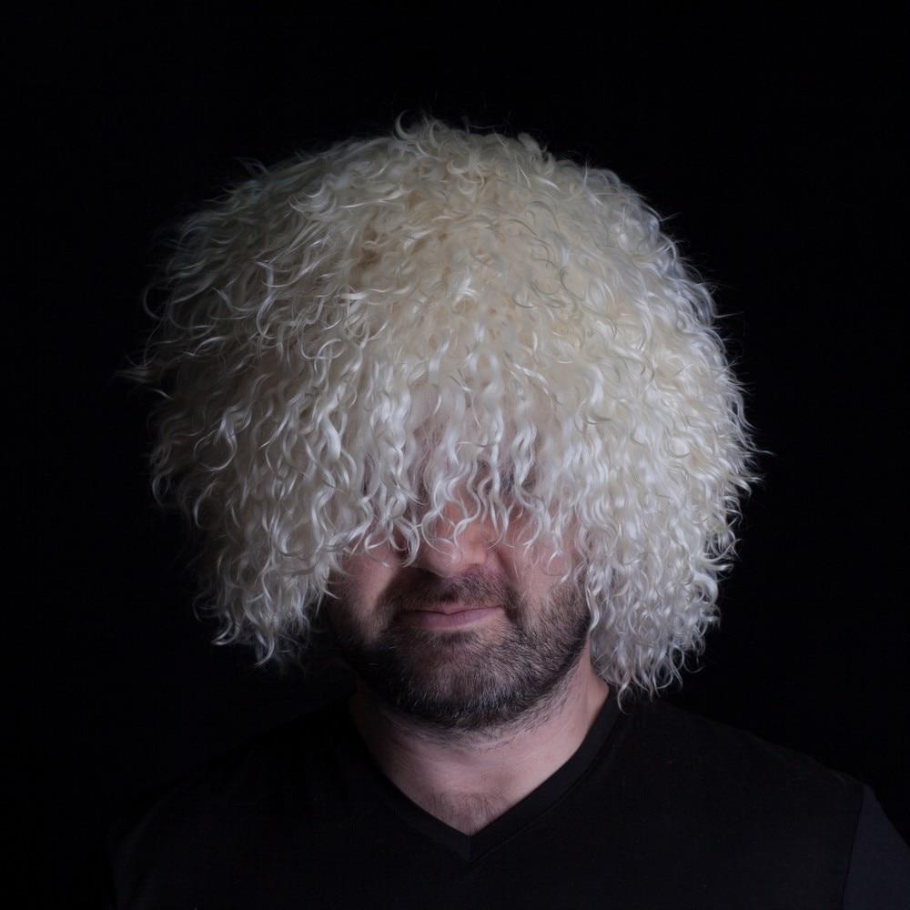 Sa casquette Papaha chapeaux ethniques caucase souvenir laine de chèvre naturelle papakha Khabib chapeau style habib nurmagomedov 001-652