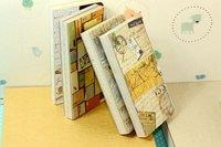 классический твердый фиолетовый сап книжка дневник Plane 8 цветов случайно st0043