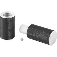 Петля гаражная с шаром СИБРТЕХ 92021 (2 предмета, материал - сталь, размер 50*180 мм)