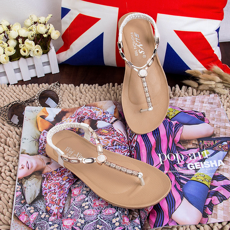 9c901ad84 Fashion 100% PU Womens simple Flip flops