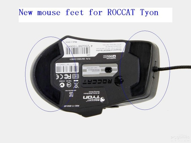 d8ec9d04b66 3M Mouse Skates pads Mouse Feet mice glide for ROCCAT TYON All Action  Multi-Button