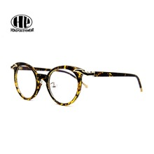 03e6ed9afe9 2017 new acetate oculos women vintage eyewear quality leisure gafas clear  lens sunglass frame personality round