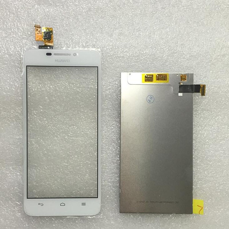 New White Touch Screen Digitizer Glass Sensor LCD Display Panel Screen For Huawei G630 5 0