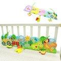 0-24 Meses Do Bebê Bumper Cama Livro de Pano Caixa Plissado Macio conhecimento Divertido E Colorido Amortecedor Berço Para Crianças Fundamento Do Bebê conjunto