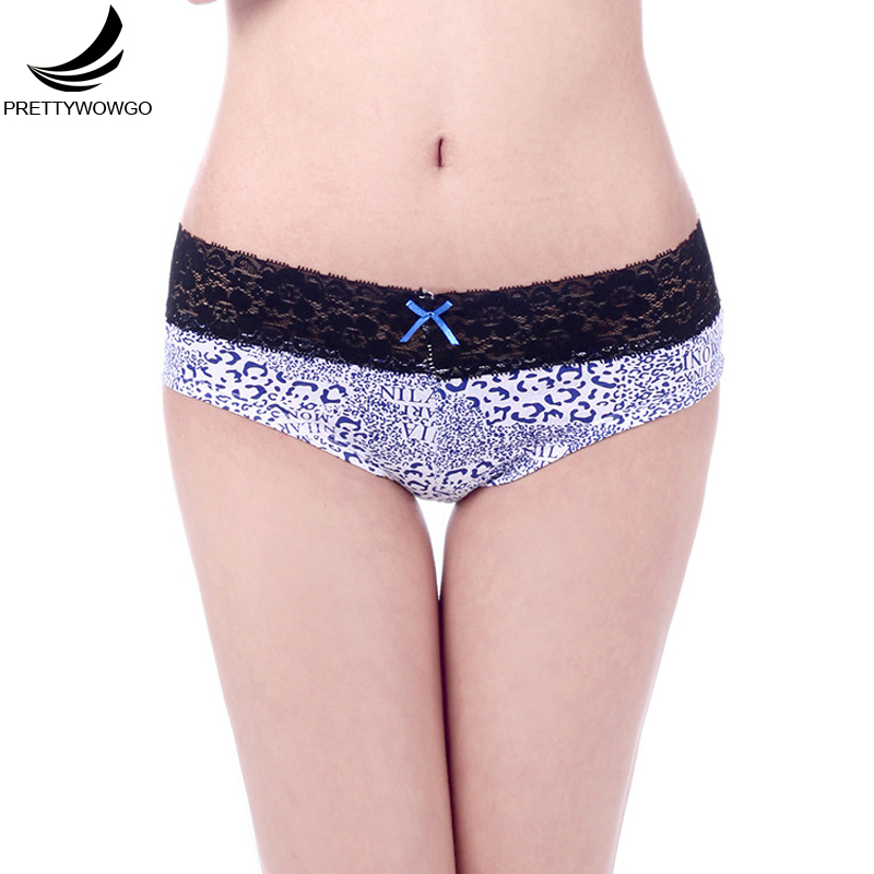 Prettywowgo Sexy Panties 2018 New Hipster Lace Women Cotton Panties ...