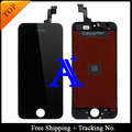 10PCS Free DHL + Tracking No. + 100% tested For Brand new 4' for iPhone 5S LCD screen display digitizer Assembly - White/Black
