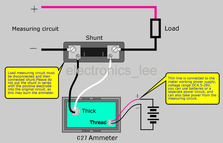 12 Volt Amp Gauge Wiring Diagram Wiring Diagram