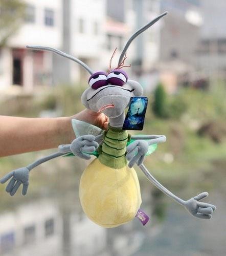 Free Shipping Wholesale Stuffed Plush Firefly Ray Mint Cartoon The