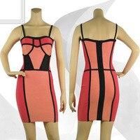в наличии высокое качество новые поступления женские сексуальное облегающее бандажное платье вечернее платье h058