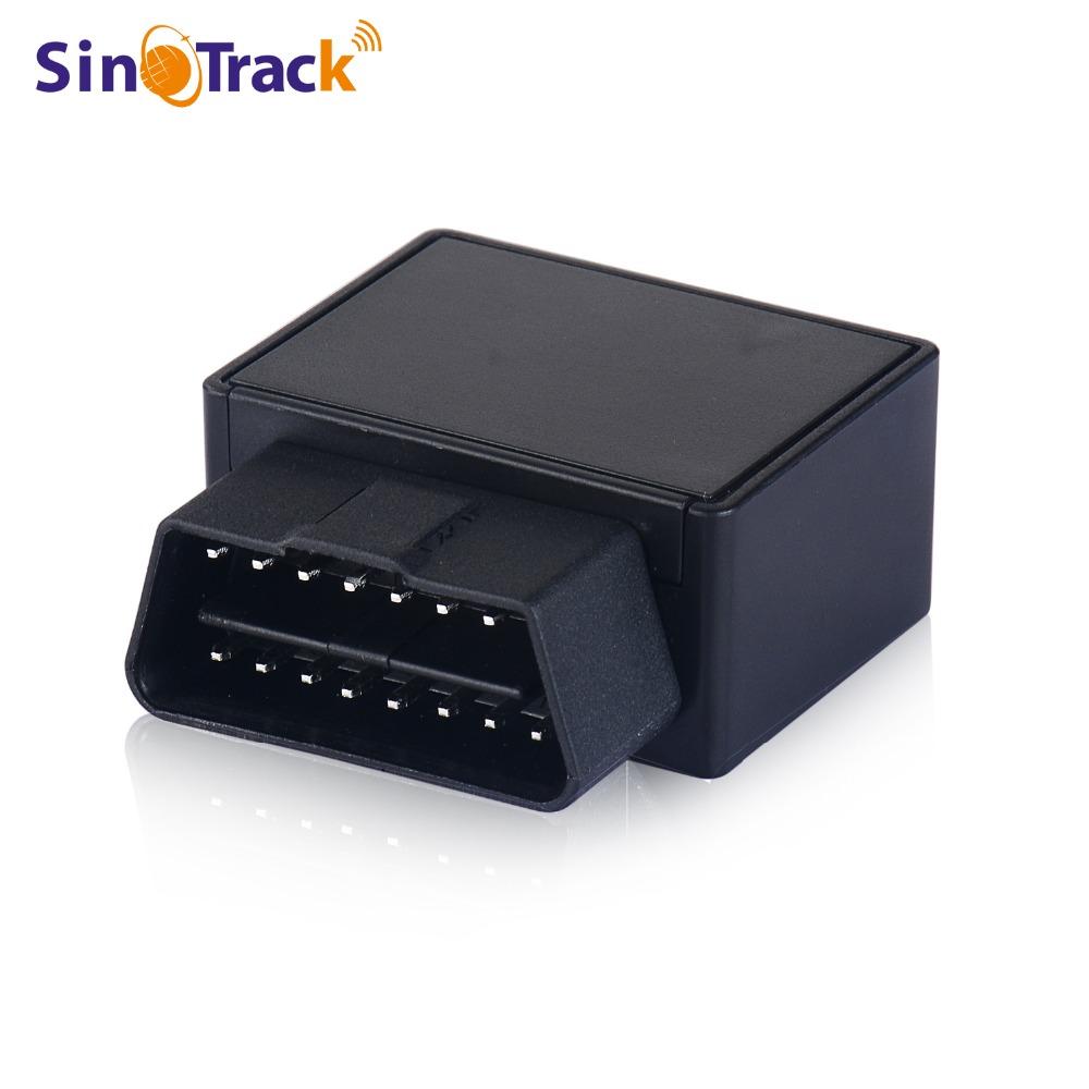 Prix pour Plug Play GPS Tracker Mini Auto OBD De Voiture GSM Véhicule de Suivi dispositif 16 BROCHES interface petit chine gps locator avec Logiciel et APP
