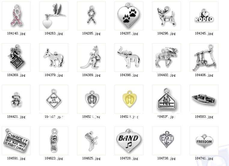 100 шт. дешево сверкающих серебряную египетский символ АНХ ювелирные изделия очарование
