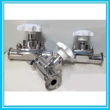 DN19 санитарно-мембранный клапан из нержавеющей стали/air Давление регулятор клапана