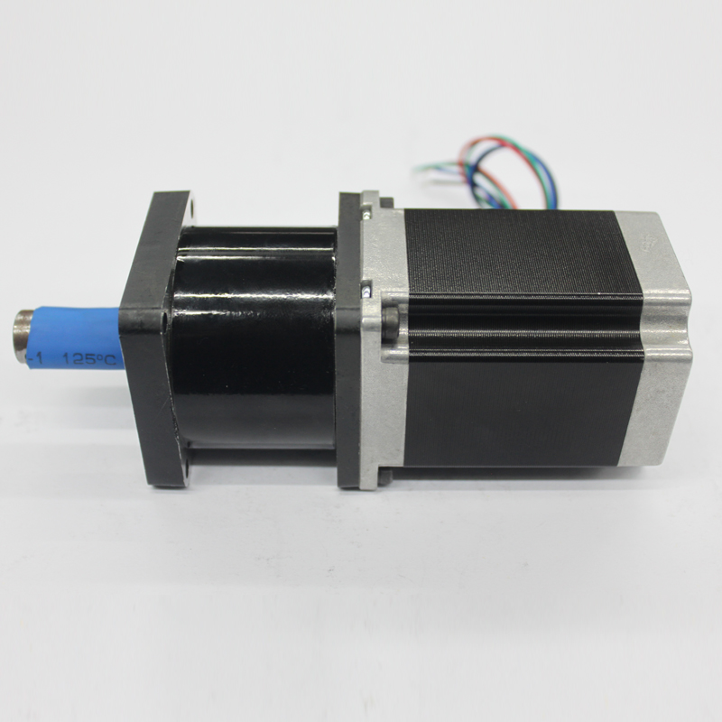 Precision Planetary reducer stepper motor torque 1.8N.m gear ratio 1:10 toothed belt drive motorized stepper motor precision guide rail manufacturer guideway